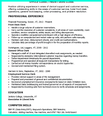 Clerical Resume Sample Provides Your Chronological Order Of ... Clerical Cover Letter Example Tips Resume Genius Sample Administrative New Rumes Examples Of 15 Mmus Form Provides Your Chronological Order Of Objectives For Positions Study Cv Samples Office Job Post Objective 10 Data Entry Jobs Proposal Letter Free Elegant Inventory Clerk What Makes Information 910 Examples Clerical Rumes Soft555com
