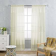 Lush Decor Belle Curtains by Amazon Com Renaissance Carley Lace 56 Inch By 84 Inch Panel With