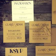 Rustic Wedding Invitations Vintage Card Invites And Simple Stationery From Made With Love