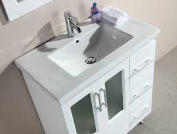 Menards Vector Utility Sink by Stanton 32 Inch Contemporary White Bathroom Vanity Set