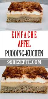 apfel pudding kuchen tag und nacht 99 rezepte