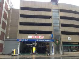 The Westland Avenue Garage Parking in Boston
