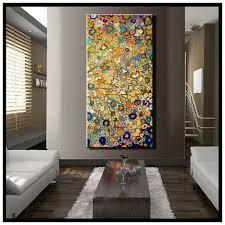 Long Vertical Wall Art Inside Trendy Elegance Gallery Large