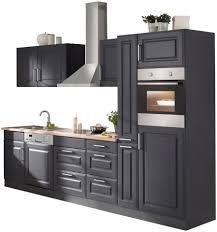 held möbel küchenzeile stockholm mit e geräten breite 310 cm kaufen otto