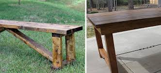 Rustic 15 DIY BenchIf You Want To Add A And Chic Touch Your Garden Check Out This Super Easy Tutorial That Will Teach How Make