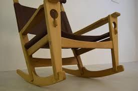 Jfk Rocking Chair Auction by Keyhole Rocking Chair Model Ge 673 By Hans J Wegner For Getama