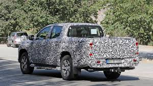 100 Mitsubishi Pickup Truck New L200 Teased In Shadowy Photo