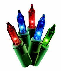 Menards Christmas Trees Recalled by Holiday Time 16 Functions Mini Light Set Green Wire Multi Bulbs
