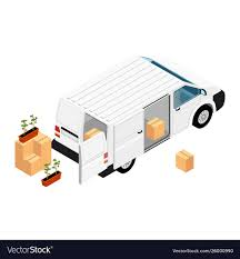 100 Seedling Truck White Realistic Hidetailed Cargo Van Minivan