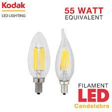 kodak 55000 55003 is a 6 watt vintage filament led candelabra