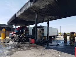 Fire Toasts Tractor-trailer, Gas Pumps At Lenwood Truck Stop - News ...