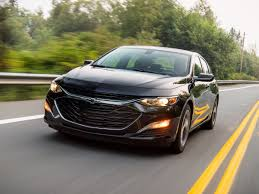2019 Chevrolet Malibu Rs First Review Kelley Blue Book With Regard ...