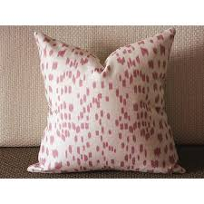 high end pillow Animal Print pillow pink pillow Les Touches pillow