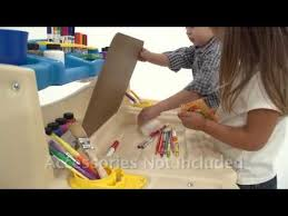 Step2 Deluxe Art Master Desk With Chair by Step2 Deluxe Art Master Desk Youtube