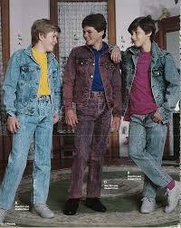 1980s Fashion For Men Boys