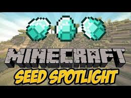 Best Pumpkin Seed Minecraft Pe by Minecraft Pe Seed Showcase Mineshaft Village W Wolf And Pumpkins