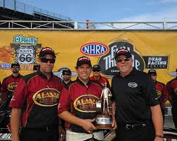 Red Line Synthetic Oil Red Line Teams Dominate Route 66 NHRA
