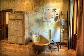 View In Gallery Rustic Vintage Ideas Give Home Story 1 Bathroom Thumb 630xauto 44693 Celebrating The Style With