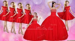 discount beaded bust quinceanera dress and lovely straps mini