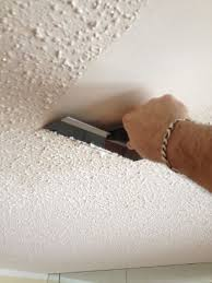Patching Popcorn Ceiling Paint by Removing Popcorn Ceilings With Pictures
