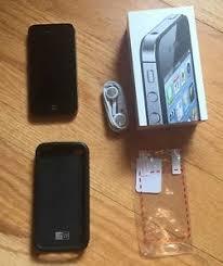 Apple iPhone 4S 16GB Smartphone Black Verizon No Contract Phone