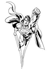 Superman Coloring Pages Printable For Boys