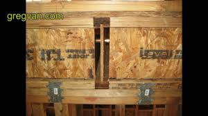 Floor Joist Bracing Spacing by Floor Joist Block Tips House Framing And Building Advice Youtube
