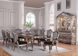 Dining Room Set By Acme Chantelle Bellagio Furniture Store Houston Texas