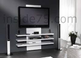 meuble mural chambre meuble tv fixé au mur mobilier design décoration d intérieur