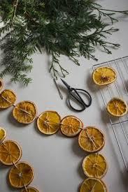 DIY Dried Orange Holiday Garland