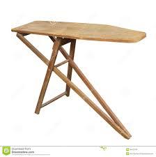 planche a repasser en bois vieille planche à repasser d isolement image stock image 39473187