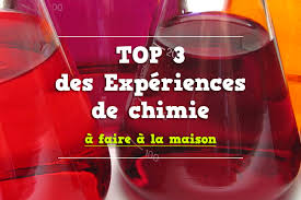 10 experience a faire a la maison expériences de chimie à faire à la maison