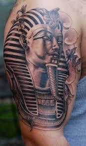 A Pharaoh Sleeve Tattoo