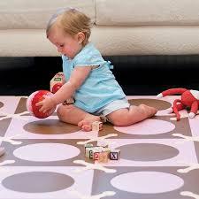 playspot foam floor tiles pink brown skiphop sh245009 skip hop