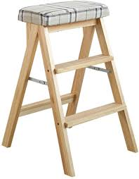 Ladder Stool 3-Step Stool Solid Wood Folding Household ... Indoor Chairs Folding Step Stool Chair Wooden Senarai Harga Hgf Ss 001ao Vtg Antique Wood Library And 50 Similar Items Diy Diy Cpbndkellarteam Cosco Rockford Series 2step Mahogany Ladder 225 Lb Load Capacity Type Ii Duty Rating Tideng Solid Wood 2 Household White Stair Thing Home Design Ideas Xtend Climb Ultra Light Weight Alinum With Handle