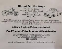 Shrout Out For Hope Benefit Car & Bike Show | KWLS Radio | Wichita ... Used Cars Austin Tx Trucks Texas Auto Ranch Houston Gil Sales Inc Craigslist Tx For Sale By Owner Best Image Truck Goodyear Motors Mall 59 Larry Pages Kitty Hawk Flying Car Is Available For Preorder Seattle Washington And Finchers Team Car 2018 And By 2019 New