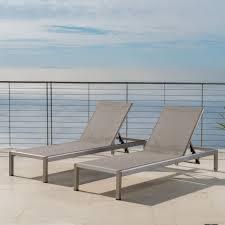 Shop Cape Coral Outdoor Aluminum Adjustable Chaise Lounge (Set Of 2 ... Shop Midcentury Lounge Chair By Baxton Studio Free Shipping Today Bernard Lounge Chair Nordic New Amaze Viesso Vitra Eames Ottoman American Cherry Wood Leather Field Modern Blu Dot Black Mhattan Home Design Canyon Vista And Reviews Joss Main Herman Miller Amouri Set Of 2 Cushions In Pacific Blue Bella