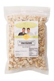 Unsalted Pumpkin Seeds Benefits by Sea Salted Dry Roasted In Shell Pumpkin Seeds Mygerbs Com