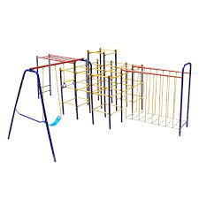 Skywalker Sports Modular Jungle Gym Combo   Jungle Gyms ... Jungle Club Gym In The Backyard Of Kindergarten Stock Image Online Chalet Swing Playground Accsories Boomtree Multideck Sky 3 Eastern Great Architecturenice Backyards Fascating Plans Fort Firemans Pole Superb Gyms Canada Tower 12ft Swings With Full Height Climbing Ramp Picture With Fabulous Childrens Outdoor Play Ct