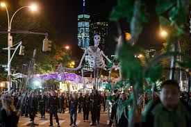 When And How Did Halloween by At Halloween Parade A Thinner Crowd And A U0027tense Environment