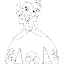 Baby Disney Princess Coloring Pages Page All Games