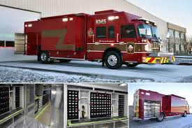 100 Hazmat Truck Custom Fire Manufacturer Heavy Rescue Apparatus