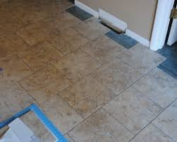 Groutable Vinyl Floor Tiles by Groutable Vinyl Tile Easy Way To Grout Vinyl Tile All Posts