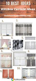 Kitchen Curtain Ideas Pictures 25 Best Kitchen Curtain Ideas You May Also Like