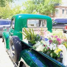 Dooley Vintage Flower Truck Noted Style Nantucket The Joys U Revelations Of A Sunday Afternoon Drive