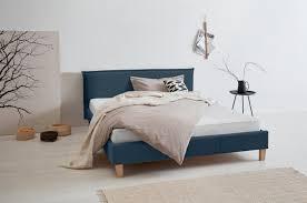 polsterbett blau material massivholz holz spanplatte buche peetu otto products