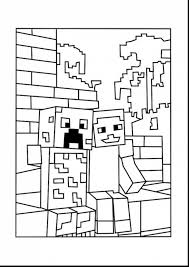 Surprising Minecraft Coloring Pages With Color And Sword
