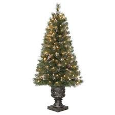 Unlit Artificial Christmas Trees Made In Usa by 4 5 Ft Unlit North Valley Spruce Artificial Christmas Tree Nrv7