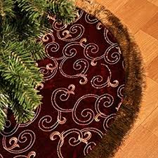 72 Inch Christmas Tree Skirts by Amazon Com Valery Madelyn 48
