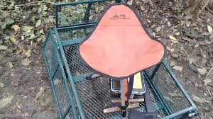 Alps Mountaineering Camp Chair by Alps Mountaineering Tripod Stool Youtube